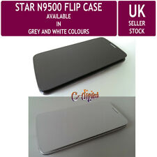 """FLIP CASE for 5"""" S4 STAR N9500 SmartPhone - Two Colours - UK Stock"""