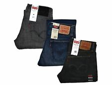 Levi's 514 Slim Straight (Hitch Hiker) (Heather Grey) and Blue Levis Jeans