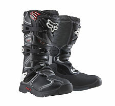 New 2014 Fox Racing Youth Boys Comp 5 MX Motocross Boots Boot Black