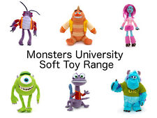 Disney Monsters University Soft Toy/ Mini Bean Bag Range inc Sulley, Mike, Randy