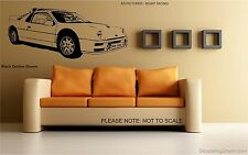 FORD RS200 RALLY CAR - WALL ART DECAL STICKER -