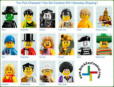 LEGO 8684 Minifigure Series 2 you pick character Disco Witch Karate Vampire Mime