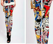 Women Sexy Leggings Tights  Cartoon Pants S6-8 M10-12,L12-14 XL14-16 Brand NEW!