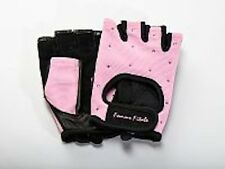 Women's BABY PINK Femme Fitale Fingerless Gloves Weigh Lifting, Fitness, Gym