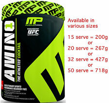 MusclePharm Amino1 The Athletes Cocktail 535g 32 Servings Recovery BCAA