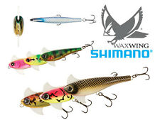 SHIMANO WAXWING FRESHWATER MUSKY LURE SELECT COLOR SIZE SENIOR 138mm DADDY 168mm