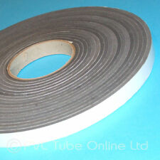 Single Sided Foam Tape- 6mm x 19mm Wide -Self Adhesive Closed Cell Weatherproof