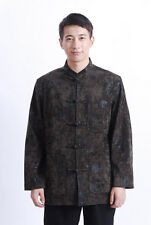BL new Chinese style woolen thicking men's winter jacket/coat S-M-L-XL-XXL-3XL