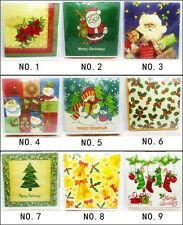 20 PCS Christmas Series Paper Napkin Party Paper 100% Virgin Wood 33X33CM 2 Ply