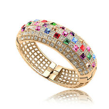 Amazing Bracelet Bangle Beautiful Elegant Jewelry with 100% Swarovski Crystals