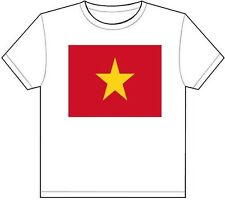 VIETNAM COUNTRY FLAG T-SHIRT TEE PICTURE PHOTO hanoi ho chi minh city vn 1879