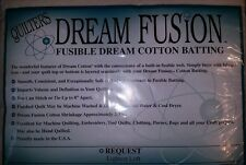 Quilters Dream Fusion Natural Cotton Batting-Choose Your Size and Loft-Free Ship