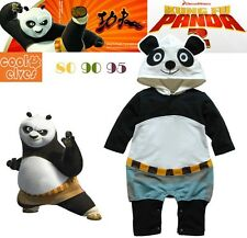 Cheap Funny Cute Kung Fu Panda Romper Jumpsuit Baby/Toddler Photography Overalls
