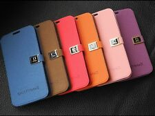 NEW Luxury PU Flip Leather Case Hard Cover For Samsung Galaxy Note II 2 N7100 D