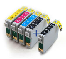 E-711 E-712 E-713 E-714 Set of 5 Compatible Printer Ink Cartridges