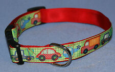 """Homemade Quick Release Adjustable Collar, size medium, adjusts from 12'-18"""""""
