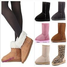 Stylish Hot Sell 6 Colors & 5 Size Lady Winter Warm Comfortable Snow Boots Shoes