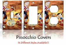 Pinocchio Light Switch Covers Disney Home Decor Outlet