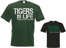 Tigers is Life t shirt Leicester / England Rugby Jersey T Shirt