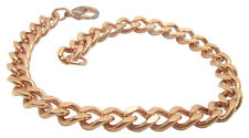 Solid Copper Anklet CA651G - 1/4 of an inch wide - Available in 8 to 11  inches