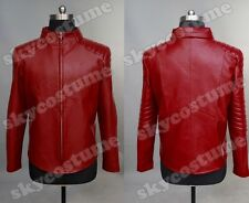 Smallville Clark Kent Red Synthetic leather Jacket Costume