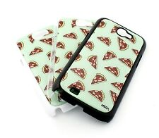 73 for SAMSUNG GALAXY NOTE 2 Case Plastic Cover PIZZA OVERLOAD food burger bacon