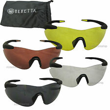 Beretta Challenge Shotgun Shooting Glasses for Game and Clay Pigeon ( OCAI )