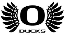 Oregon Ducks Wings College Football Window Sticker Decal - Pick your color!