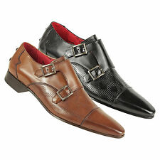 Jeffery West Muse Monta Buckle Leather Shoes
