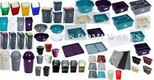 PLASTIC BINS DISH DRAINER CUTLERY TRAY MAT WASHING UP BOWL MATCHING ACCESSORIES