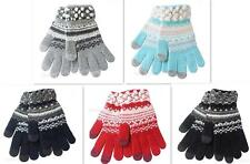 Winter Women Colorful Touch Screen Gloves Telefingers Gloves Keep Your Hand Warm