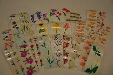 Mrs. Grossman Flower Sticker You Choose Daisy, Rose, Lily, Daffidil Tulips Pansy