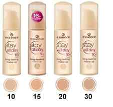 Essence Stay All Day Makeup Foundation long-lasting make-up  – 30 ml.