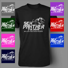 Sex Panther Cologne Funny Anchorman Will Ferrell Mens T-Shirt