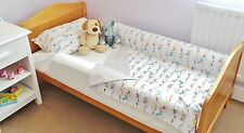 Slimline AB-JNR 100% Cotsafe Foam Bed Guard Bumpers for cotbeds & junior beds.
