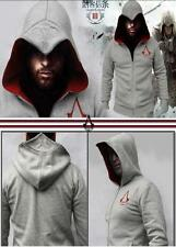 NWT Assassin's Creed 3 Conner Kenway Coat Jacket Hoodie CostumeF Youth/AdultCos