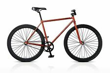 Mafiabikes Manhattan Silver Fixed Gear Fixie Racer Bike Mafia Copper NEW 2013