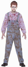 Haunted Child Chucky Child's Play Bloody Doll Fancy Dress Up Halloween Costume