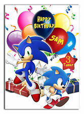 458 sonic the hedgehog Son Grandson Nephew Daughter Grandaughter Niece 7th 8th 9