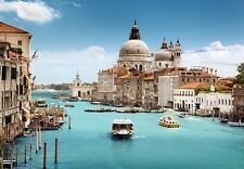 """Wall Mural """"Grand Canal and Basilica, Venice"""" Discounted Picture"""