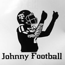 Johnny Football Cashing Out Texas A&M Manziel College Football Sticker Decal