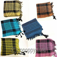 Arabian Scarf Pashmina Kafiya Wrap for Men Women Check shade Arab Shemagh