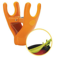 JOIE CLIP-ON SPOON REST NEW WITH TAG CHOOSE ORANGE OR GREEN SPACE SAVE MESS FREE