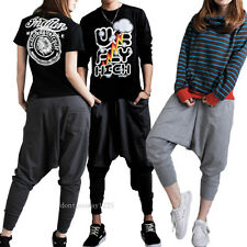 Cool Casual Baggy Hip-hop Harem Pants Trousers Dance Couple Sweatpants Women Men