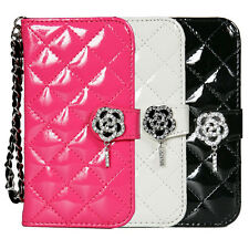 TORU iHand Diamond Quilted Fashion Wallet Case with CreditCard Slots iPhone5 ,5s