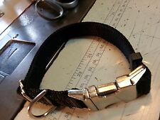 """Adjustable 1"""" Dog Collar Strong, Heavy Duty Hand Made Lots Of Colors"""
