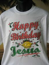 HAPPY BIRTHDAY JESUS CHRISTMAS DESIGN T Shirt, great gift idea, cotton shirt
