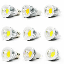 Ultra Bright MR16 GU10 E27 Dimmable LED COB Spot down light lamp bulb 6W 9W 12W