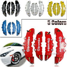 5-Colors Car Front & Rear Professional Disc Brake Caliper Covers 3D Brembo Style