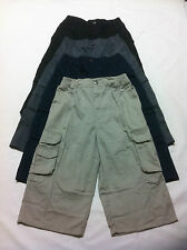 New Mens Boys 3/4 Pants Walk Outdoor Fish Camp Casual Cargo Shorts Size XS- XXXL